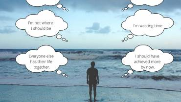 A Quarter Life Crisis may sound like…