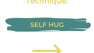 Grounding technique: Self Hug